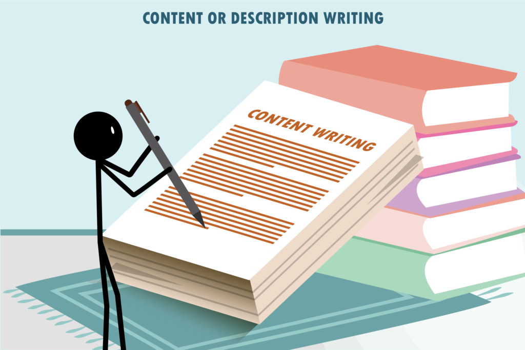 Content or Description Writing