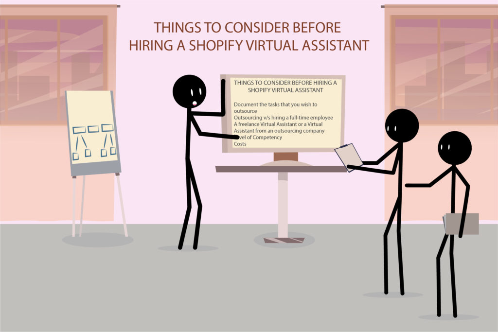 Things to consider before hiring a Shopify Virtual Assistant